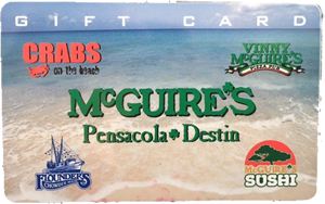 Flounders Gift Card