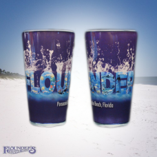 Aquarium H2O Pint Glass