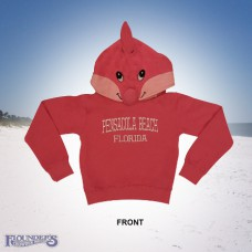 Dolphin Hoodie-Pink