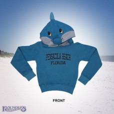 Dolphin Hoodie-Blue