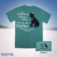Captain's Right Dog - Seafoam