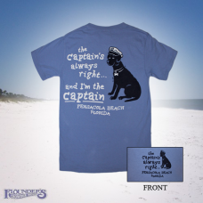 Captain's Right Dog - Wash Denim