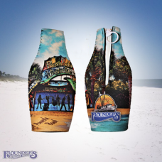 Flounder's Sublimation Bottle Zip Koozie