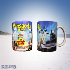 Full Wrap Pensacola Beach Mug