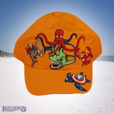 Seavengers Cap-Orange
