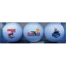 Crab Flounders Logoed Golf Balls