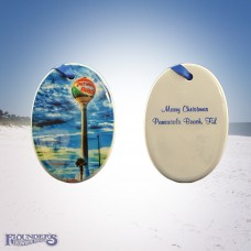 Pensacola Beach Ball Ornament